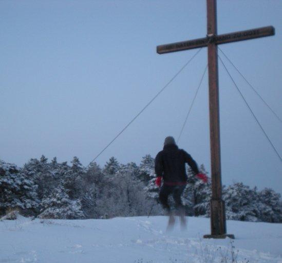 Schneejoggen